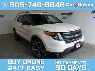Used 2013 Ford Explorer SPORT   4X4  ROOF   LEATHER   NAV  ADAPTIVE CRUISE for sale in Brantford, ON