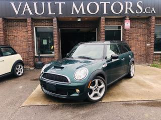 Used 2009 MINI Cooper Clubman 2dr Cpe S, CLUBMAN for sale in Brampton, ON