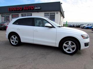 Used 2012 Audi Q5 3.2 Quattro Premium Panoramic Navi Camera Certified for sale in Milton, ON