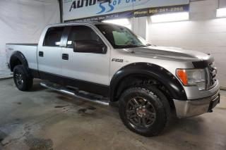 Used 2010 Ford F-150 V8 OFF-ROAD 4X4 SUPER CREW CERTIFIED 2YR WARRANTY *FREE ACCIDENT* ALLOYS RUNNING BOARDS for sale in Milton, ON