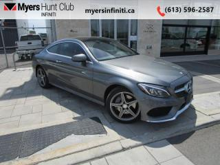 Used 2017 Mercedes-Benz C-Class C300 4MATIC COUPE for sale in Ottawa, ON