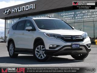 Used 2016 Honda CR-V EX-L  - Leather Seats -  SiriusXM - $139 B/W for sale in Nepean, ON