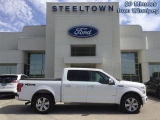 Used 2015 Ford F-150 PLATINUM CREW 4X4  - Navigation for sale in Selkirk, MB