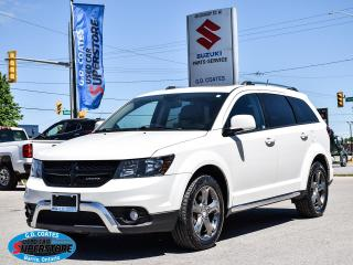 Used 2015 Dodge Journey Crossroad AWD ~7-Passenger ~Heated Leather ~Roof for sale in Barrie, ON