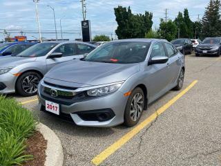 Used 2017 Honda Civic Sedan EX for sale in Waterloo, ON
