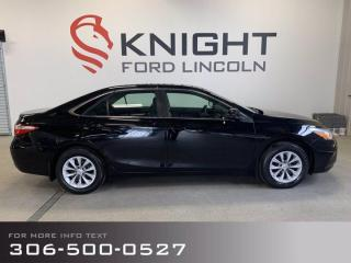 Used 2017 Toyota Camry LE, Low Km's, Nice Sedan, It's A Camry! for sale in Moose Jaw, SK