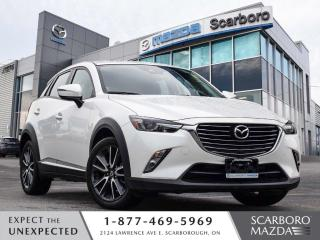 Used 2018 Mazda CX-3 GT AWD NAV LEATHER SUN ROOF 1 OWNER CLEAN CARFAX for sale in Scarborough, ON
