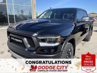 New 2021 RAM 1500 Rebel-4WD,V8 Hemi,Nav,Remote Start,RamBox,Leather for sale in Saskatoon, SK