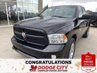 Used 2017 RAM 1500 Express-4WD,V8, Accident Free, Front Bench Seat for sale in Saskatoon, SK