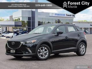 Used 2016 Mazda CX-3 GS ( MOON ROOF CLEAN CARFAX ) for sale in London, ON