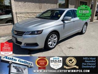 Used 2018 Chevrolet Impala LT* Heated Seats/Bluetooth/SXM/REMOTE STARTER for sale in Winnipeg, MB