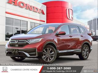 New 2021 Honda CR-V Touring GPS NAVIGATION | APPLE CARPLAY™ & ANDROID AUTO™ | POWER SUNROOF for sale in Cambridge, ON