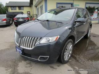 Used 2013 Lincoln MKX LOADED ALL-WHEEL DRIVE 5 PASSENGER 3.7L - V6.. NAVIGATION.. LEATHER.. HEATED/AC SEATS.. DUAL SUNROOF.. BACK-UP CAMERA.. BLUETOOTH SYSTEM.. THX AUDIO.. for sale in Bradford, ON