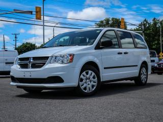 Used 2017 Dodge Grand Caravan SE CANADA VALUE PKG AIR POWER GRP, REAR AC AND HEATER for sale in Ottawa, ON