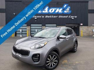 Used 2017 Kia Sportage EX AWD - Leather, Heated Seats, Push Button Start, Heated Seats + Steering, Reverse Camera and More! for sale in Guelph, ON