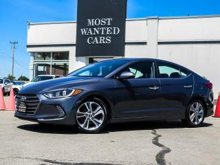 Used 2017 Hyundai Elantra LIMITED|NAVIGATION|LEATHER|SUNROOF|XENONS|3M HOOD for sale in Kitchener, ON