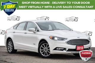 Used 2018 Ford Fusion Energi Titanium ENERGI | NAVIGATION | LEATHER for sale in Kitchener, ON