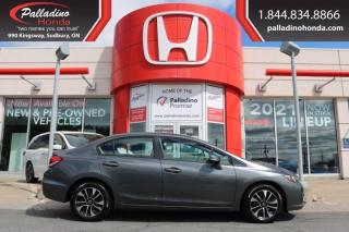 Used 2013 Honda Civic Sdn EX - NEW FRONT BRAKES - for sale in Sudbury, ON