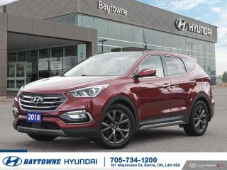 Used 2018 Hyundai Santa Fe Sport AWD 2.0T Ultimate for sale in Barrie, ON