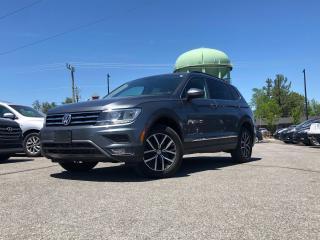 Used 2018 Volkswagen Tiguan Comfortline PLEATHER NAVIGATION SUNROOF! LOADED! for sale in Stittsville, ON