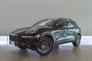 Used 2017 Porsche Cayenne Platinum Edition for sale in Langley City, BC