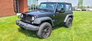 Used 2015 Jeep Wrangler SPORT for sale in London, ON