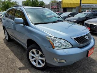 Used 2008 Lexus RX 350 RX350/AWD/NAVI/CAMERA/LEATHER/ROOF/LOADED/ALLOYS for sale in Scarborough, ON