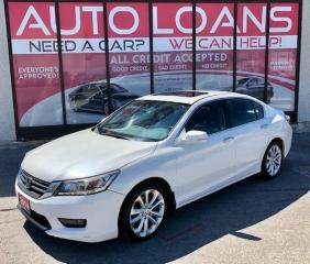 Used 2014 Honda Accord TOURING-ALL CREDIT ACCEPTED for sale in Toronto, ON