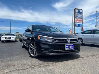 Used 2019 Volkswagen Passat No Accidents|Wolfsburg Edition| Sunroof|Certified for sale in Brampton, ON