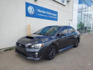 Used 2017 Subaru WRX SPORT   AWD   SUNROOF  for sale in Edmonton, AB