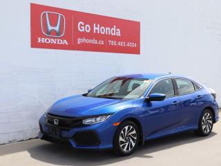 Used 2017 Honda Civic Hatchback LX HATCHBACK NO ACCIDENTS! for sale in Edmonton, AB