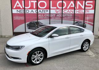 Used 2016 Chrysler 200 LIMITED-ALL CREDIT ACCEPTED for sale in Toronto, ON