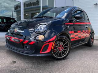 Used 2016 Fiat 500 ABARTH - MANUAL, BLUETOOTH, FRONT WHEEL DRIVE, GREAT EYE BALL for sale in Edmonton, AB
