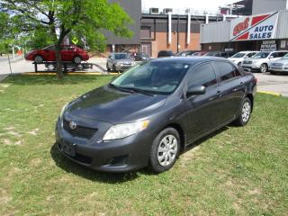 Used 2009 Toyota Corolla CE ~ AUTO ~ SAFETY INCLUDED for sale in Toronto, ON