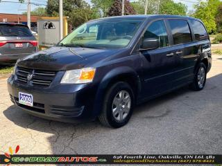 Used 2009 Dodge Grand Caravan SE ONE OWNER LOW KM NO ACCIDENT WARRANTY CERTIFIED for sale in Oakville, ON