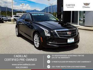 Used 2017 Cadillac ATS 2.0L Turbo MOONROOF - WIRELESS CHARGING - LEATHER for sale in North Vancouver, BC