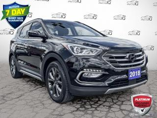 Used 2018 Hyundai Santa Fe Sport 2.0T Ultimate AWD Leather/Navi/Roof/Winter Tires for sale in St Thomas, ON