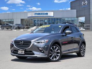 Used 2019 Mazda CX-3 GT - AWD, LEATHER, MOONROOF, BLUETOOTH, BOSE, REAR CAMERA for sale in Hamilton, ON