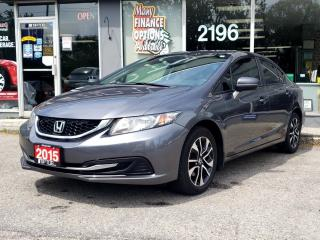 Used 2015 Honda Civic Sedan 4dr Man EX for sale in Bowmanville, ON
