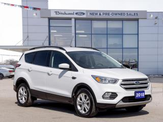 Used 2018 Ford Escape SE 1.9% APR | FORD CERTIFIED | 1 OWNER | CLEAN CARFAX for sale in Winnipeg, MB
