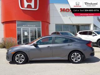 Used 2016 Honda Civic LX Apple CarPlay - Android Auto - Heated Seats for sale in Winnipeg, MB
