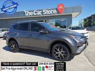 Used 2017 Toyota RAV4 AWD SE Leather Sunroof Heat Seats, BLIND SPOT CAM! for sale in Winnipeg, MB