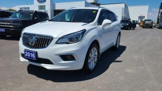 Used 2016 Buick Envision Premium I - AWD, HEATED LEATHER, REMOTE START for sale in Kingston, ON