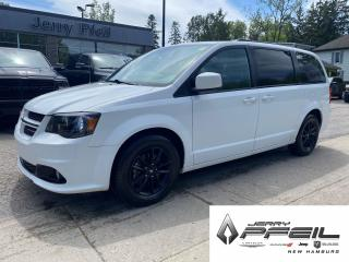 Used 2019 Dodge Grand Caravan GT l LEATHER l POWER DOORS l DVD for sale in New Hamburg, ON