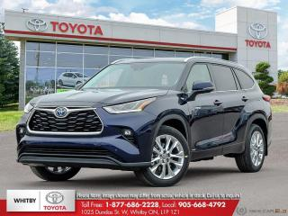New 2021 Toyota Highlander Hybrid Limited for sale in Whitby, ON