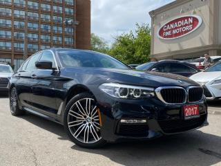 Used 2017 BMW 530i xDrive M SPORTS PKG   NAVI   CAM   ROOF   WARR TILL JULY 2021   for sale in Scarborough, ON