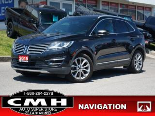 Used 2015 Lincoln MKC Base  NAV ROOF LEATH P/SEATS REM-START 19-AL for sale in St. Catharines, ON