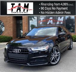 Used 2017 Audi A6 Technik S-Line 2.0T NAVI Sunroof 360 Cam PDC BOSE for sale in North York, ON