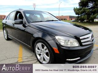 Used 2011 Mercedes-Benz C-Class C250 4-MATIC for sale in Woodbridge, ON