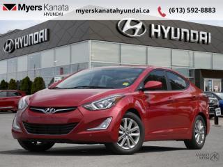 Used 2015 Hyundai Elantra SPORT APPEARANCE  - $77 B/W for sale in Kanata, ON